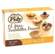 Pidy 12 Mini Tartlettes Dessert Cups