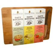Grandma Wilds Oaty Biscuits Selection and Cheese Board Set
