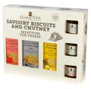 Grandma Wilds Savoury Selection for Cheese and Chutney Gift Set