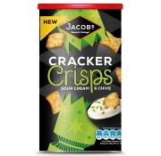 Jacobs Cracker Crisps Sour Cream and Chives Caddy