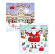 Gift Maker Whimsical Santa and Friends