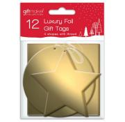 Gift Maker Luxury Foil Gold Gift Tags