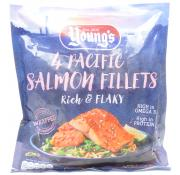 Youngs 4 Pacific Pink Salmon Fillets
