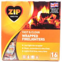 Zip Fast and Clean Wrapped Firelighters image