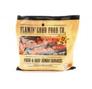Flamin Good Food Co 6 Pork and Beef Jumbo Sausages