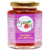 A Jar of Red Pepper and Chilli Jam image