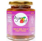 Ajar Of Spiced Apple and Date Chutney