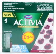Activia 0% Cherry Bio Yogurt