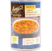 Amy's Kitchen Organic Quinoa Kale and Red Lentil Soup