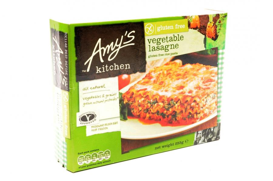 Amy S Kitchen Gluten And Dairy Free Vegetable Lasagne