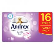 Andrex 16roll Gentle Clean