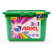Ariel Liquid Capsules 3 In 1 Colour 19w