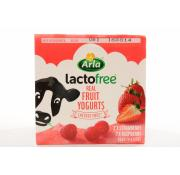 Arla Lactofree Strawberry And Raspberry Yogurt