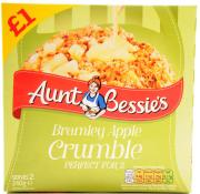 Aunt Bessie Bramley Apple Crumble