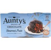 Auntys Steamed Puddings Chocolate Fudge