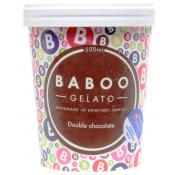 Baboo Gelato Double Chocolate Ice Cream