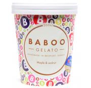 Baboo Gelato Maple and Walnut Ice Cream