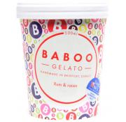 Baboo Gelato Rum and Raisin Ice Cream