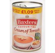 Baxters Favourite Cream Of Tomato Soup