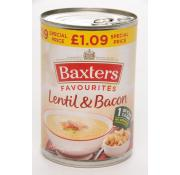 Baxters Favourites Lentil and Bacon Soup