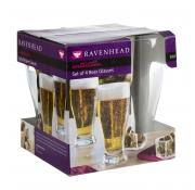 Ravenhead 4 53cl Beer Glasses