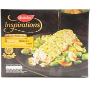 Birds Eye Inspirations Haddock Fillets with Lemon and Chive Sauce