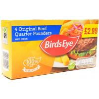 Birds Eye Beef Quarter Pounders image