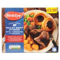 Birds Eye Traditional Beef Dinner image