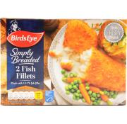 Birds Eye Fish Fillets in Crumb 2pk