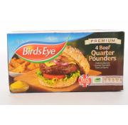 Birds Eye Beef Quarter Pounders
