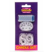 Birthday Candle Set - Blue
