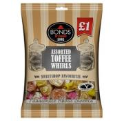 Bonds Assorted Toffee Whirls