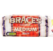 Braces Medium White
