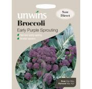 Unwins Broccoli Early Purple Sprouting