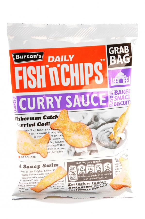 Dike son burtons fish and chips curry sauce for Fish and chips sauce
