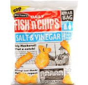Dike son food cupboard crisps snacks and nuts for Fish and chips vinegar