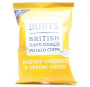 Burts Crisps Mature Cheddar and Spring Onion