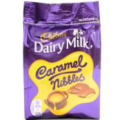 Cadbury Dairy Milk Caramel Nibbles Bag