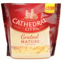 Cathedral City Mature Grated Cheese image