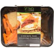 Chefs Cuisine Chicken and Stuffing Dinner