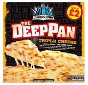 Chicago Town The Deep Pan Triple Cheese