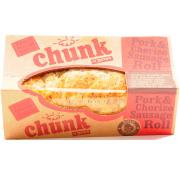 Chunk Pork and Chorizo Sausage Roll