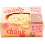 Chunk Pork and Scrumpy Pasty