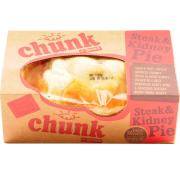 Chunk Steak and Kidney Pie