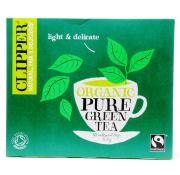 Clipper Fairtrade Organic Pure Green Tea