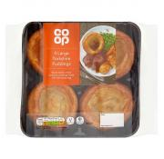 Co Op 4 Rustic Yorkshire Puddings
