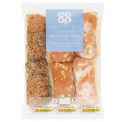 Co Op Assorted Mini Bread Rolls