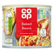 Co Op Baked Beans Tomato Sauce