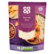 Co Op Basmati Microwave Rice