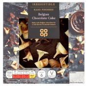 Co Op Irresistible Hand Finished Belgian Chocolate Cake